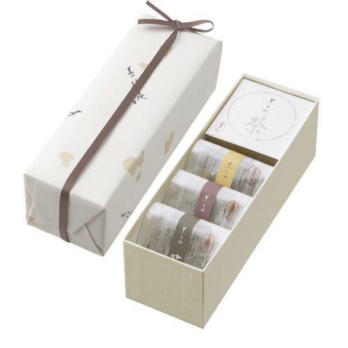 菓子・御茶詰合せ 紙箱(小)